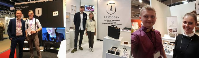 BeWooden stánky s drevenými produktami v Berlíne, Štokholme a Paríži