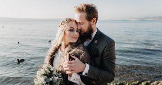 Kúzelná svadba v škandinávskom štýle