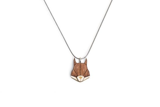 BeWooden - 0 Squirrel Pendant
