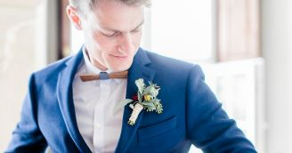 BeWooden - Ženích ako gentleman