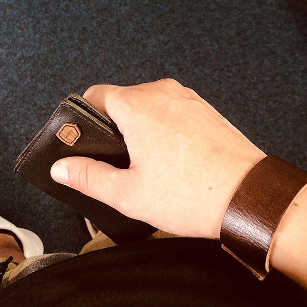 Kožená peněženka BeWooden