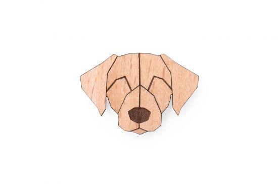 BeWooden - 0 Labrador brooch cover