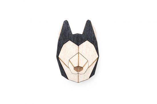 BeWooden - 0 Husky brooch cover