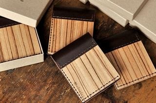 BeWooden - Drevená peňaženka