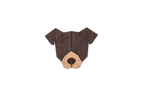 BeWooden - 0 American Pit Bull Terrier Brooch