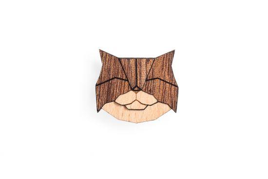 Persian Cat Brooch