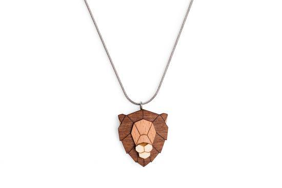 BeWooden - Lion Pendant