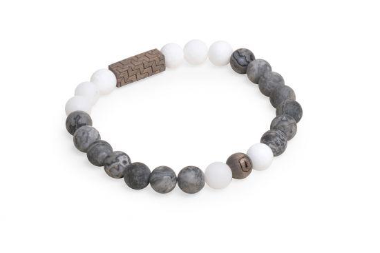 BeWooden - 1 Viame & White  couple bracelets