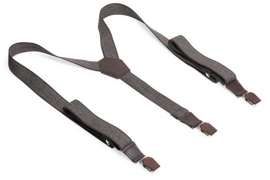 BeWooden - 0 Brunn Tweed Suspenders