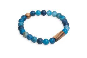 Aqua Zebrano Bracelet