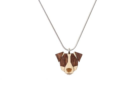BeWooden - 0 Jack russell pendant
