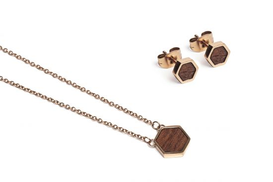 BeWooden - Rea Hexagon Set