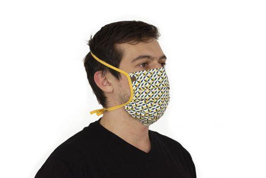 Bavlnené štýlové rúško Meri Mask BeWooden