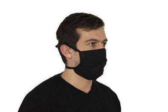 Bavlnené štýlové rúško Nox Mask BeWooden