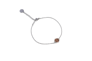 Lini Hexagon Bracelet