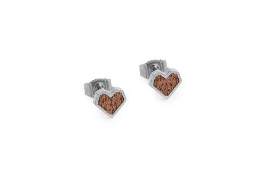 Red Earrings Heart