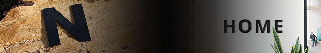 Drevené písmená na stenu