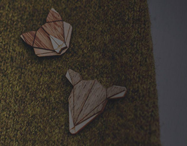 Drevené brošne
