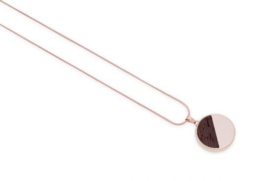 Rose Necklace Medallion